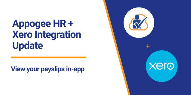 Appogee HR + Xero Integration Update