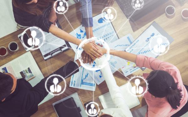 Digital transformation strategy involving people